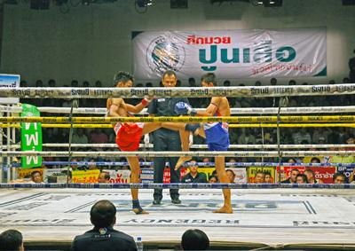Muay Thai fight in Channel 7 Bangkok