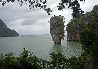 Phang Nga bay and James Bond Island, Thailand