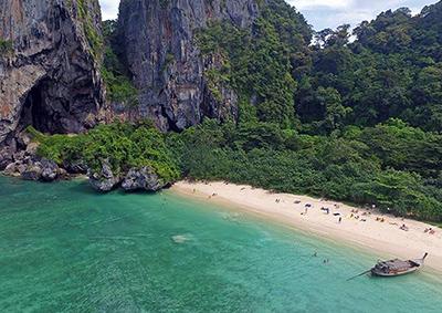 Phra Nang beach, Railay, Krabi.