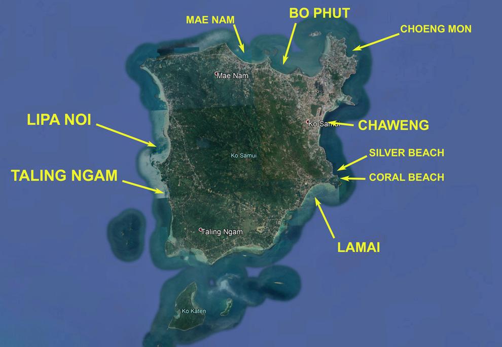 Beach-Map-Koh-Samui