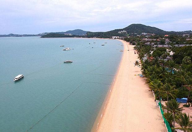 Bo Phut beach, Koh Samui, Thailand