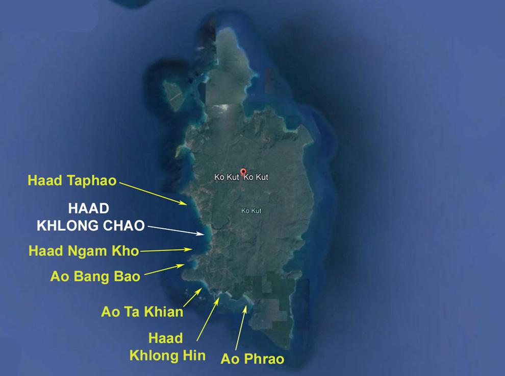 Koh-Kood-Map