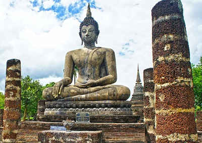 Wat Mahathat Temple, Sukhothai