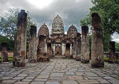 Wat Phra Pai Luang Temple, Sukhothai