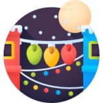 Full Moon party Icon