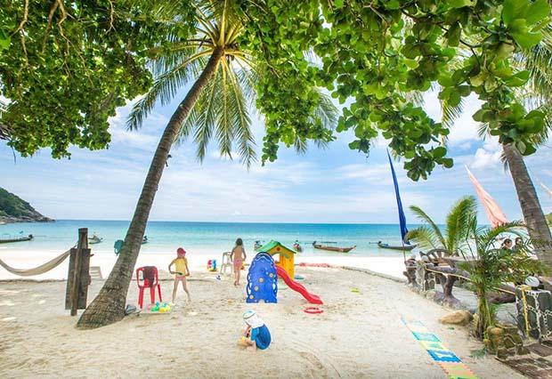 Haad Kuat (bottle beach), Koh Pha Ngan