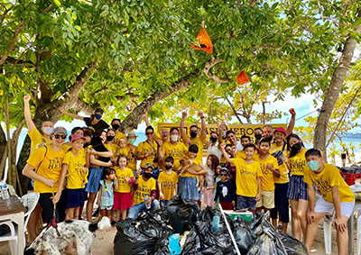 Helping the environment in Koh Lipe