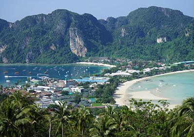 Koh Phi Phi Don view.
