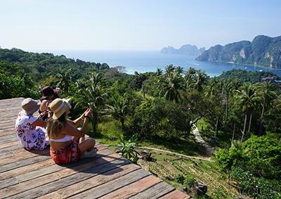 Koh Phi Phi Don viewpoint
