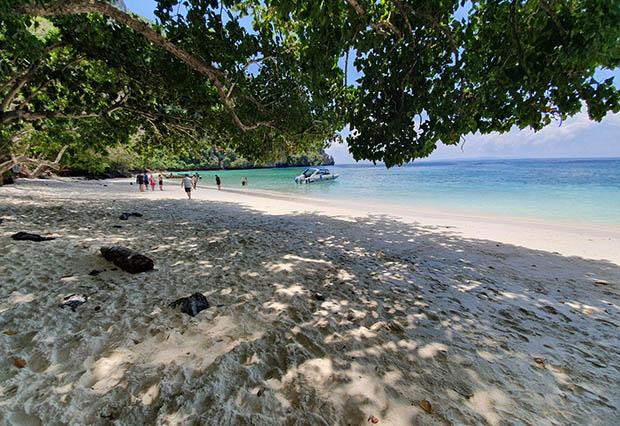 Monkey beach, Koh Phi Phi, Thailand