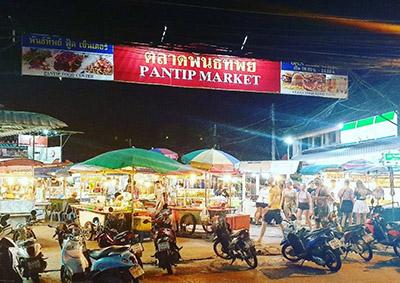 Pantit Market, Koh pha Ngan