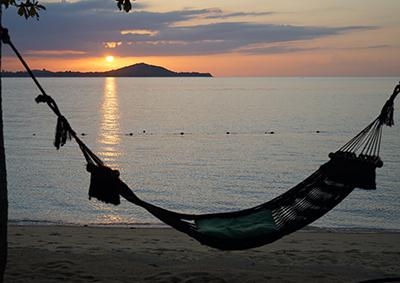 Sunset in Koh Samui, Thailand