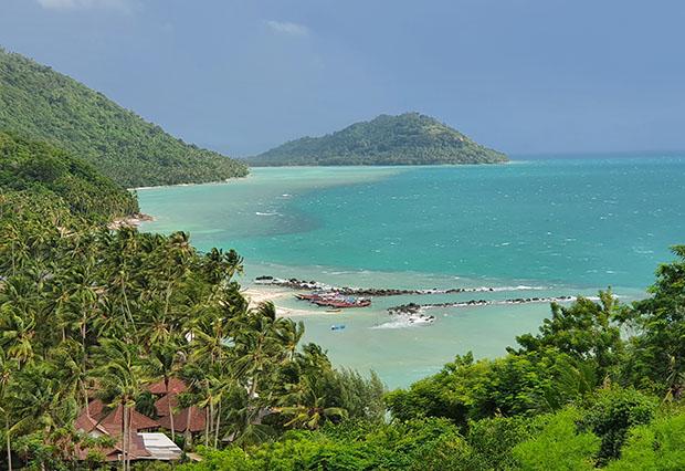 Taling Ngam beach, Koh Samui, Thailand