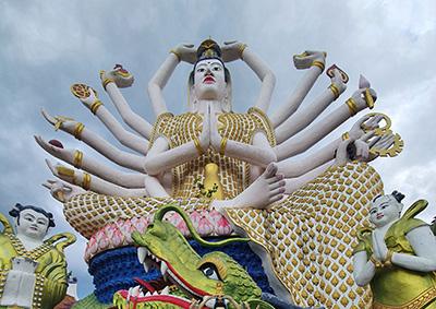 Wat Plai Laem temple, Koh Samui, Thailand