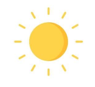 Icon of a sun