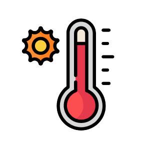 icon for hot season