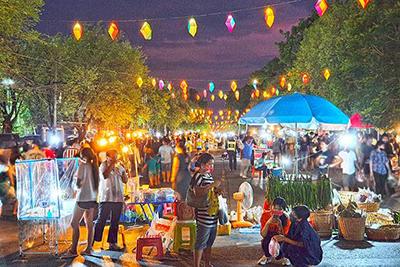 Khon Kaen's Night Market