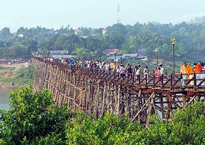 Saphan Mon Bridge, Sangkhlaburi