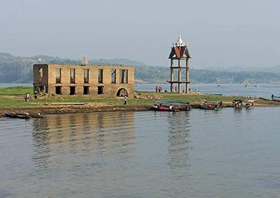 Khao Laem Dam, Sangkhlaburi, Thailand