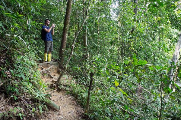 Hiking-in-Khao-Sok