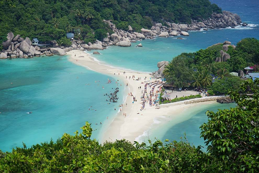 Amazing Koh Nang Yuan Beach