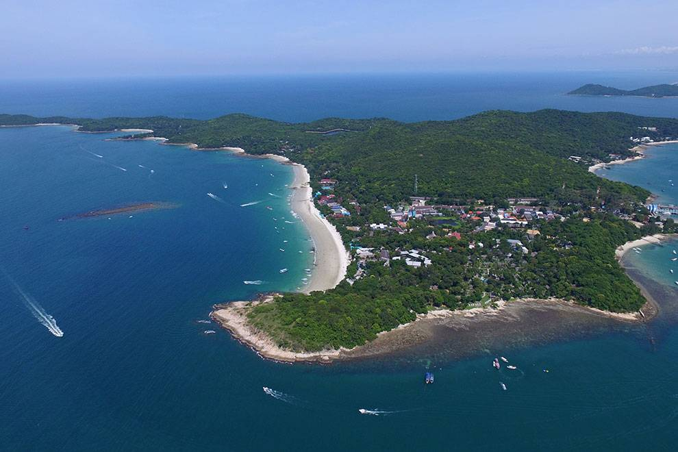 Koh Samed aerial picture
