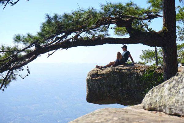 Phu Kradueng cliff