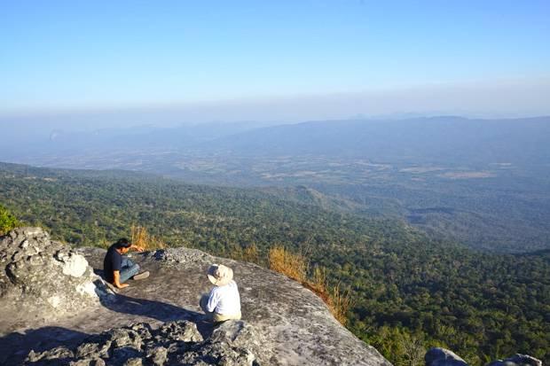 Panoramic views from Phu Kradueng