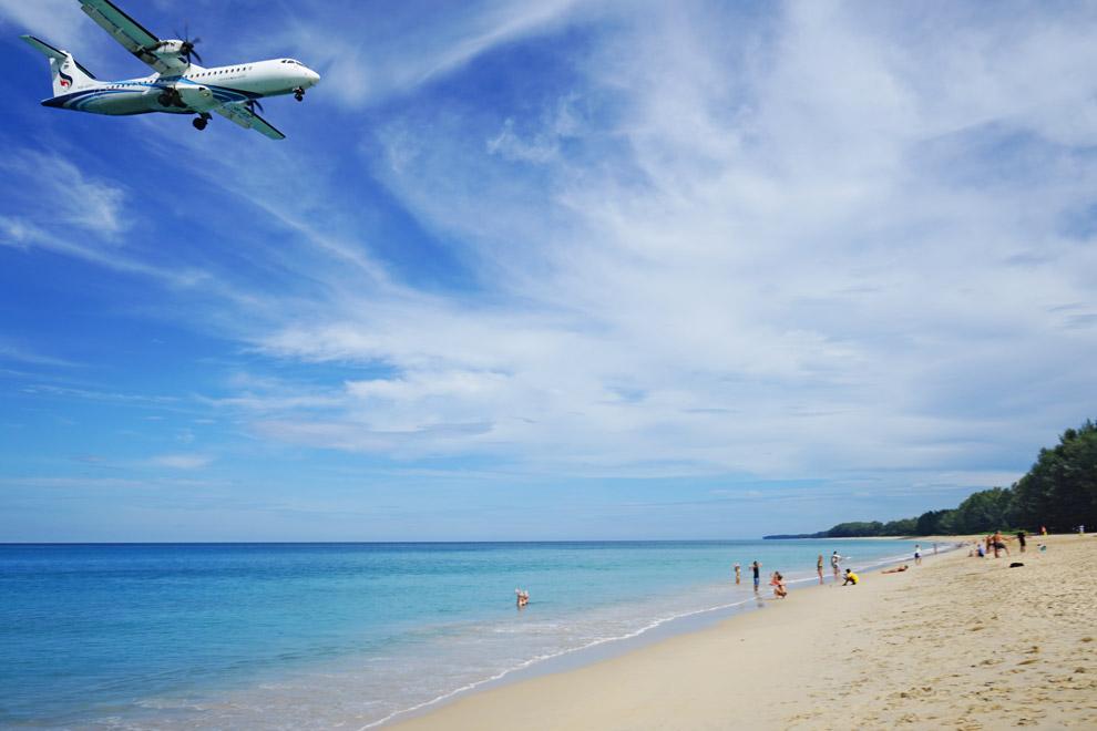 Plane in Phuket