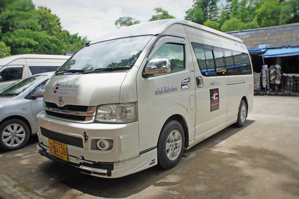 Private Van in Thailand