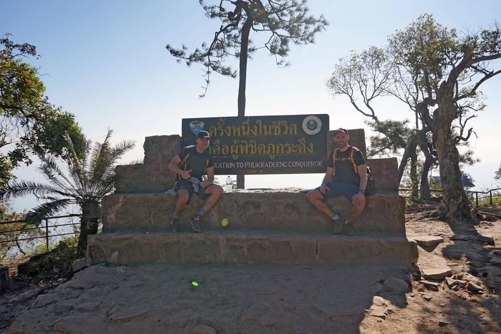 Phu Kradueng Summit Thailand