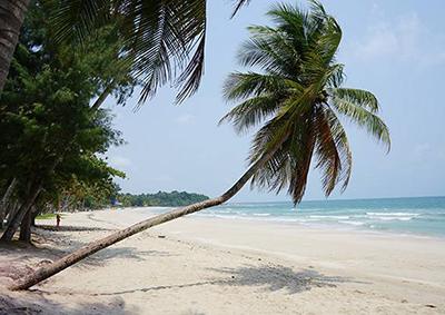 Wua Laen Beach Chumphon Thailand