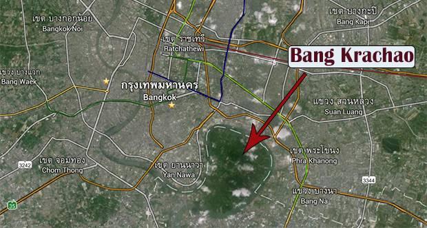 green lungs of Bangkok