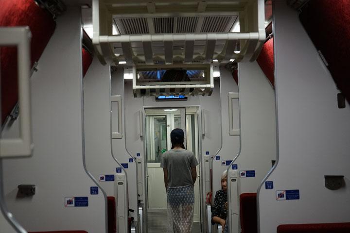 Corridor night
