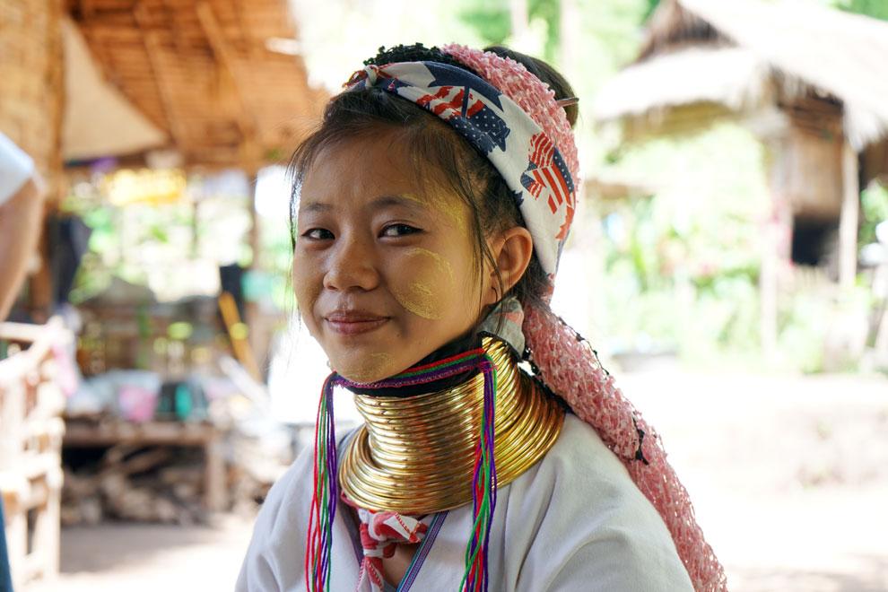 Padong girl