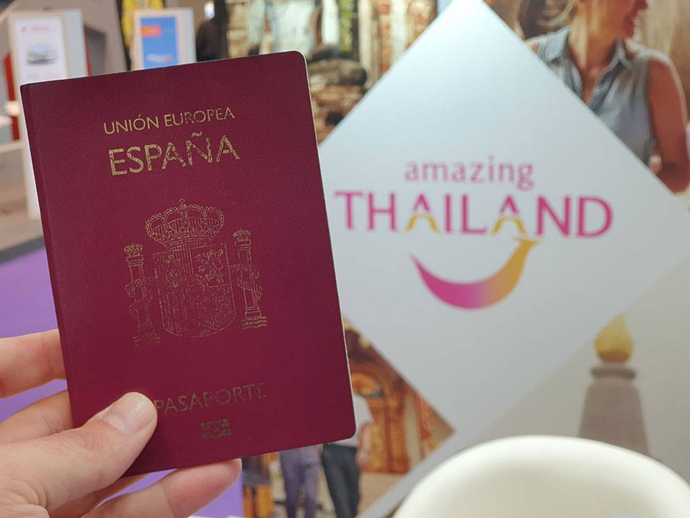 Passport Arrival Thailand