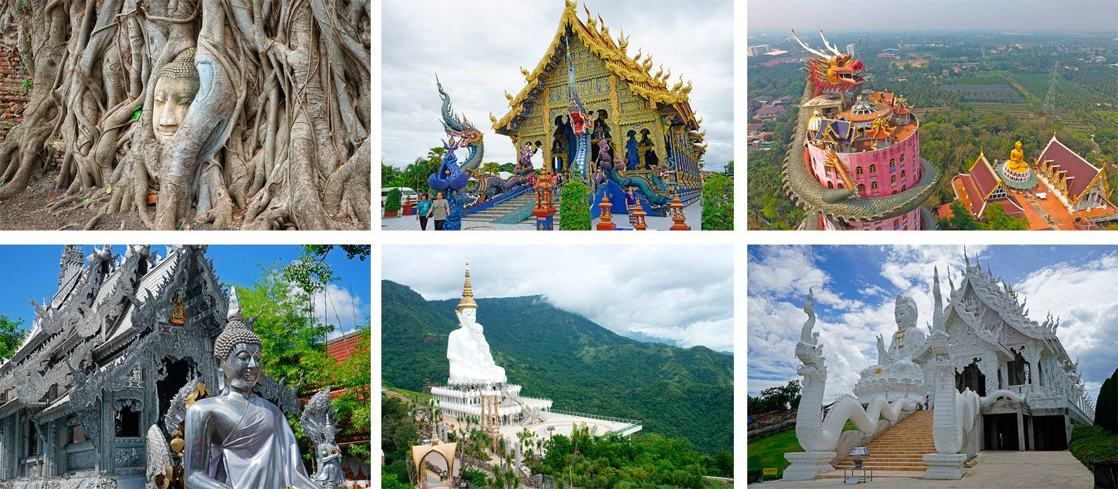 The 20 most original and amazing temples of Thailand