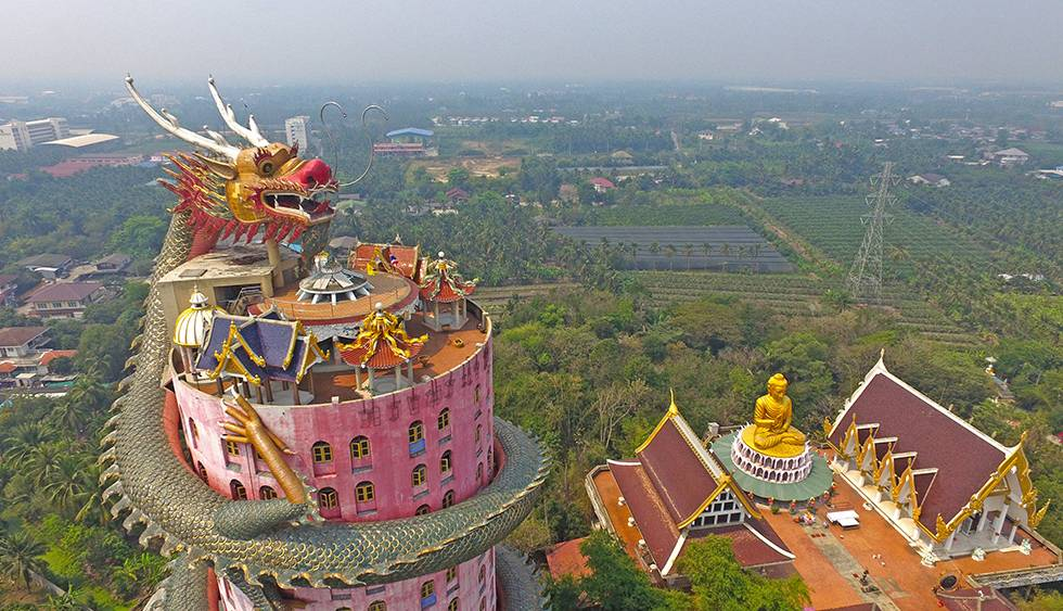 Temple of the Dragon in Thailand