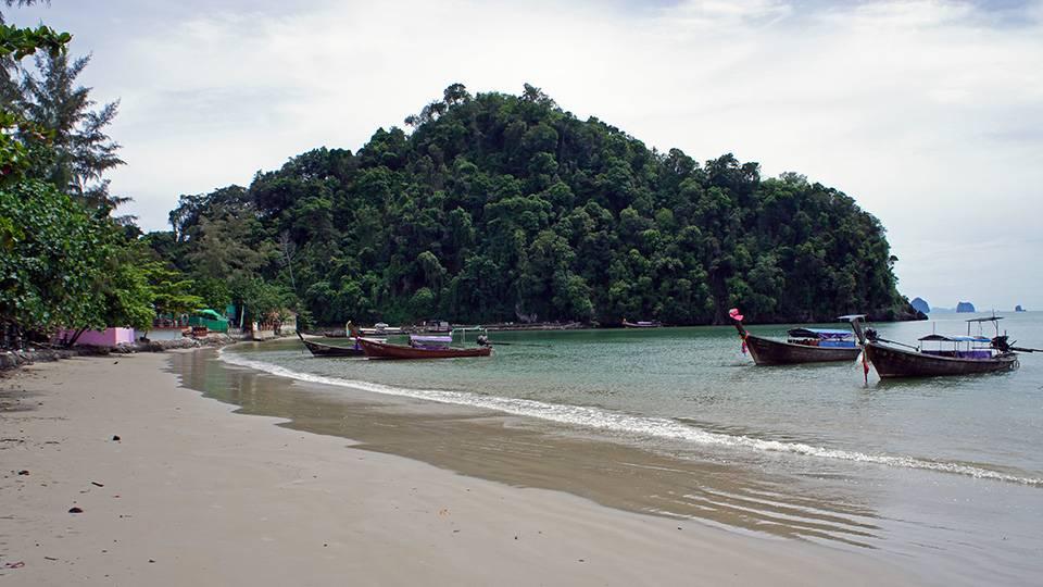 ao nang beach thailand
