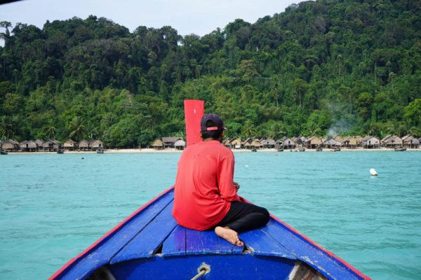 Boat Koh Surin