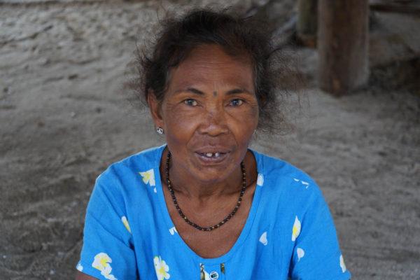 Moken woman