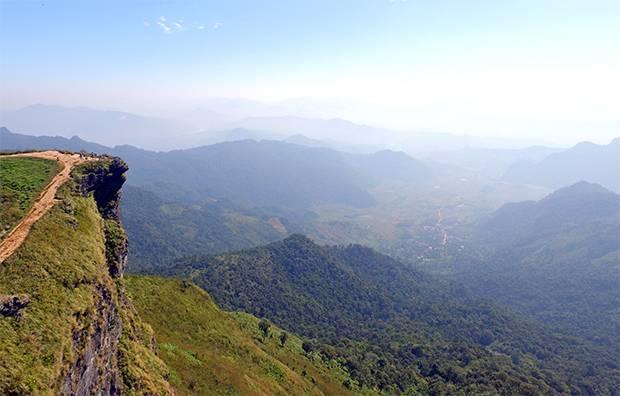 views over Laos