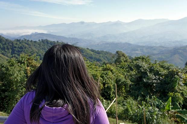 enjoying phu chi fa landscape