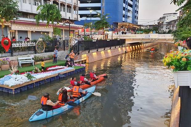 kayaking Klong Ong Ang