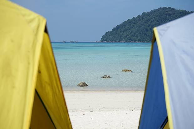camping koh surin islands