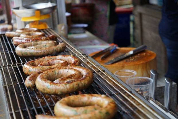 mae kampong sausages