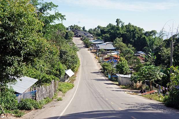 road climbing phu chi fa
