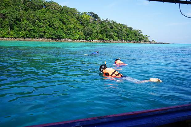 snorkeling koh surin