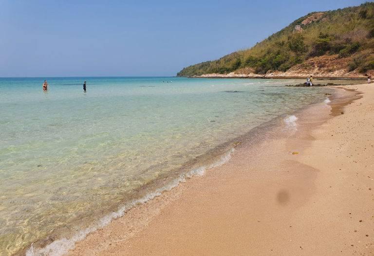 sai kaew beach near bangkok