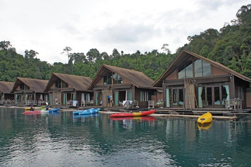 khao sok floating cabin